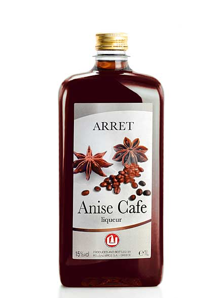 anise cafe Label