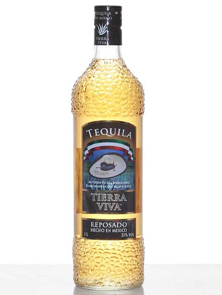 Authentic Tequila Label